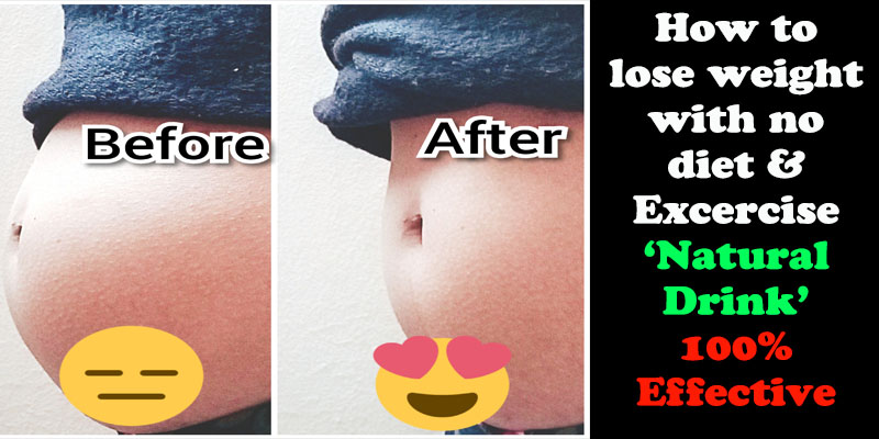 How To Lose Weight Naturally With No Diet No Exercise 100 Effective